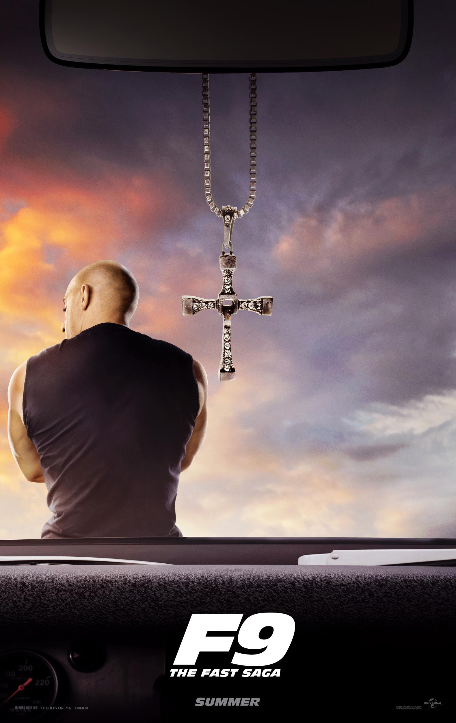 The first poster for 'Fast & Furious 9' promises an action-packed ninth installment in the 'Fast' saga (Photo: Universal)