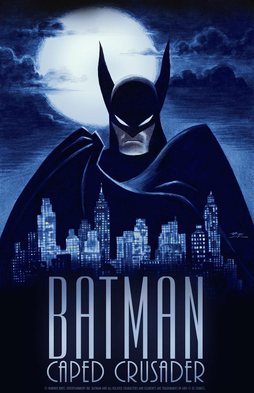 Batman: Caped Crusader looks to retain the neo-noir elements of Bruce Timm's classic Batman: The Animated Series.