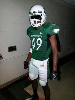 online retailer 6b364 848fa Charlotte 49ers strike gold with their first-ever football ...