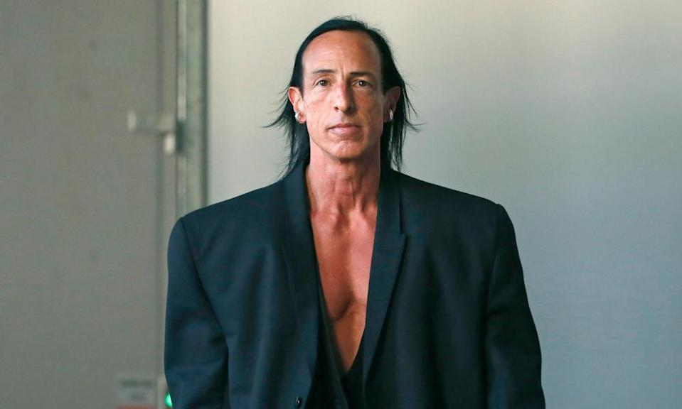 Designer Rick Owens, who has been featured on the Business of Fashion podcast.
