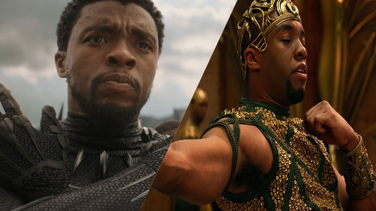 <p>Dignified, cool, charismatic – Chadwick Boseman's performance as Black Panther is all of this and more. It's the direct opposite to his turn in <em>Gods Of Egypt</em> – but, despite the character being completely cringeworthy, he's still the best thing in the movie. </p>