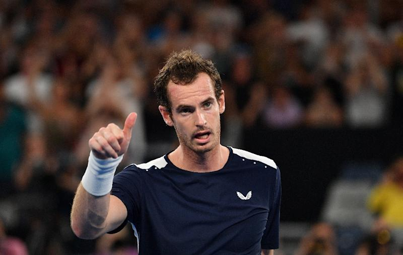 Back on court: Andy Murray returns to tennis by playing doubles at Queen's Club this week