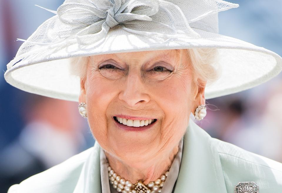 EPSOM, ENGLAND - JUNE 01: Princess Alexandra attends the Epsom Derby at Epsom Racecourse on June 01, 2019 in Epsom, England. (Photo by Samir Hussein/Samir Hussein/WireImage)