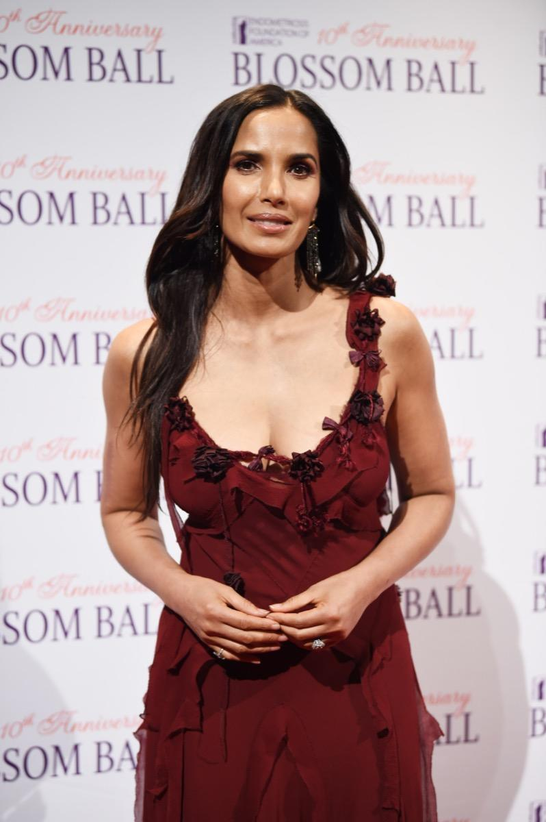 NEW YORK, NEW YORK - MAY 08: Padma Lakshmi attends Endometriosis Foundation Of America's 10th Annual Blossom Ball on May 08, 2019 at Cipriani Wall Street in New York City. (Photo by Dimitrios Kambouris/Getty Images for Endometriosis Foundation of America )