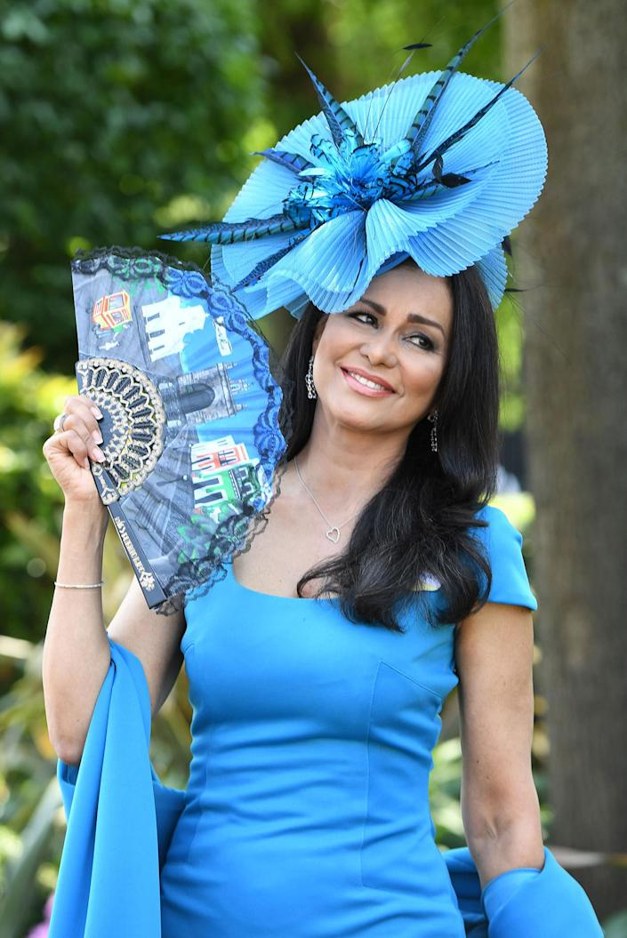 <p>Wilnelia Merced attends the first day off Royal Ascot 2017 at Ascot Racecourse on June 20, 2017 in Ascot, England. (Anwar Hussein/WireImage via Getty Images) </p>