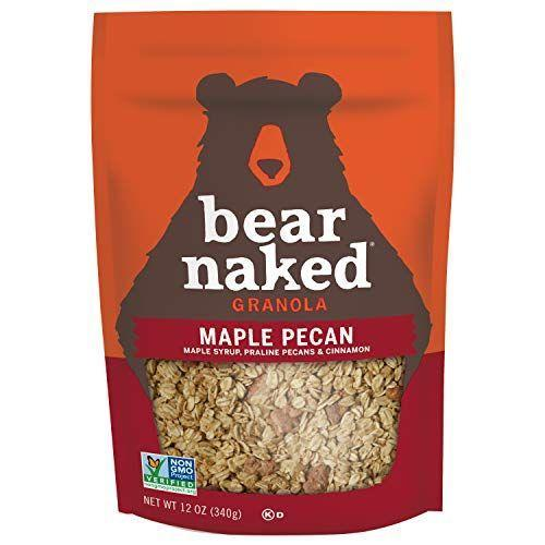 """<p><strong>Bear Naked</strong></p><p>amazon.com</p><p><strong>$22.44</strong></p><p><a href=""""https://www.amazon.com/dp/B00317EA4G?tag=syn-yahoo-20&ascsubtag=%5Bartid%7C10049.g.32793292%5Bsrc%7Cyahoo-us"""" rel=""""nofollow noopener"""" target=""""_blank"""" data-ylk=""""slk:Shop Now"""" class=""""link rapid-noclick-resp"""">Shop Now</a></p><p>And if you want to get a little fancy with your yogurt, mix in some granola and you've got yourself a bougie coffee shop-worthy parfait.</p>"""