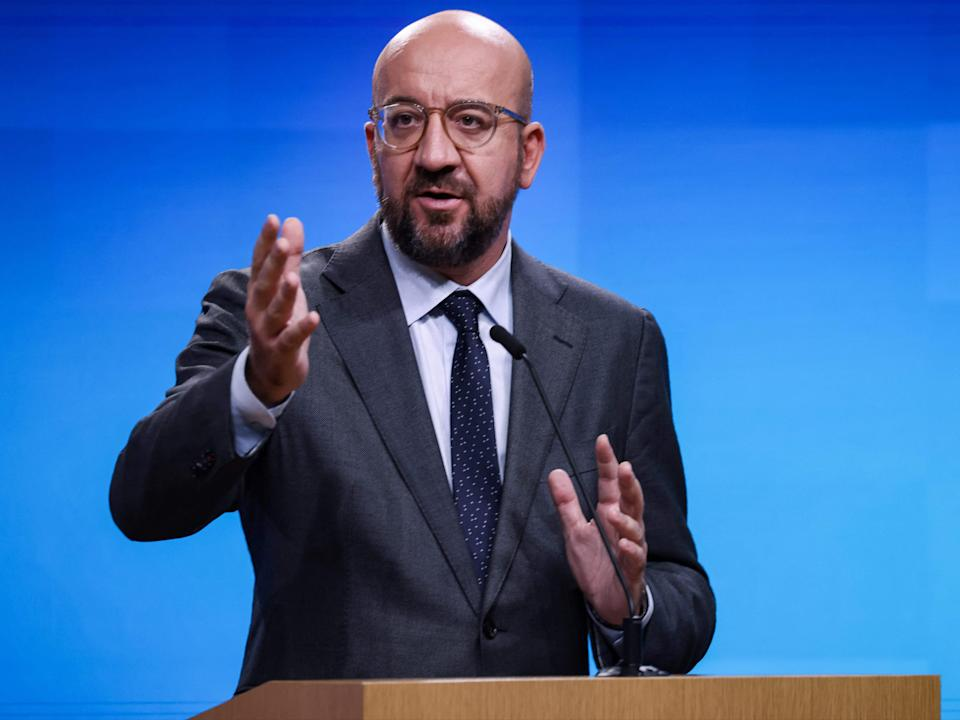 Michel suggested countries around the world should use the Afghanistan crisis as a learning opportunity (AFP via Getty Images)