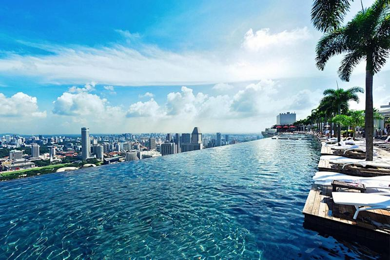 (Marina Bay Sands Hotel)