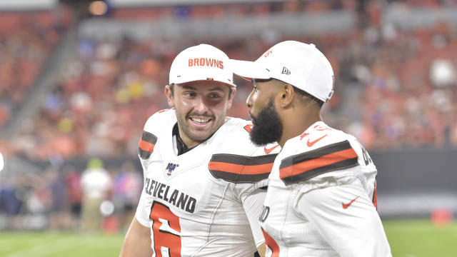 Baker Mayfield, left, and Odell Beckham Jr. are two big reasons the Browns are one of 2019's must-watch teams. (AP)