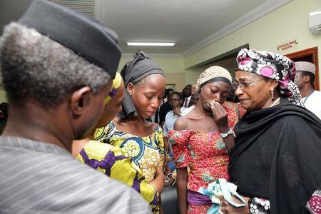 Chibok school girls visit White House