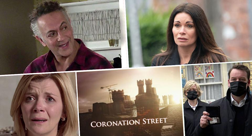 Find out what's ahead on Coronation Street (ITV)