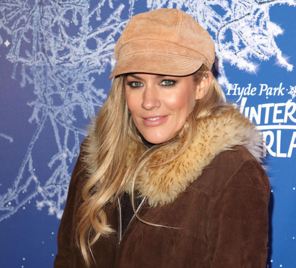 British TV Presenter Caroline Flack aged 40 was found dead today at her home. She had appeared as a host of several popular Television shows the most recent being Love Island for which she received a BAFTA TV Award at the Winter Wonderland 2019 VIP Launch. (Photo by Keith Mayhew / SOPA Images/Sipa USA)
