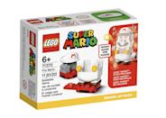 <p>The <span>Lego Super Mario Fire Mario Power-Up Pack</span> ($10, available Aug. 1) has 11 accessory pieces and is best suited for kids ages 6 and up. (It pairs with the Mario figure that comes in the <span>Lego Super Mario Adventures with Mario Starter Course</span>!)</p>