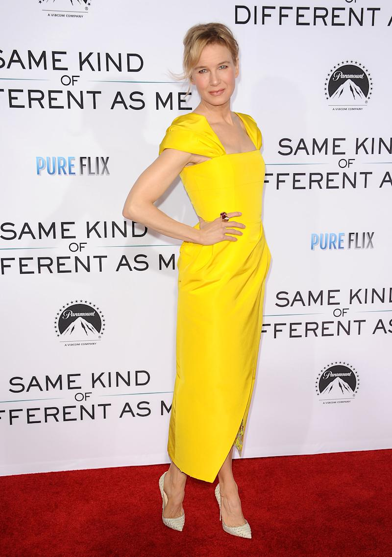 Renee Zellweger at the 'Same Kind of Different as Me' premiere