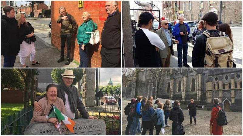 Homeless guides give tourists a personal view of Ireland's streets