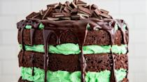 """<p>Have some dessert with your drinks...or some drinks <em>in </em>your dessert 😉. Because there's no time like St. Patty's Day to make <a href=""""https://www.delish.com/cooking/recipe-ideas/a46303/baileys-cheesecake-recipe/"""" rel=""""nofollow noopener"""" target=""""_blank"""" data-ylk=""""slk:Baileys cheesecake"""" class=""""link rapid-noclick-resp"""">Baileys cheesecake</a>, ya know? Bring these St. Patrick's Day desserts to any party, or just make a batch for your friends and fam—green desserts are a must on this holiday. For more St. Patty's day inspo, check out our favorite <a href=""""https://www.delish.com/cooking/g26207754/baileys-cocktails/"""" rel=""""nofollow noopener"""" target=""""_blank"""" data-ylk=""""slk:Baileys cocktails"""" class=""""link rapid-noclick-resp"""">Baileys cocktails</a>, too.</p>"""