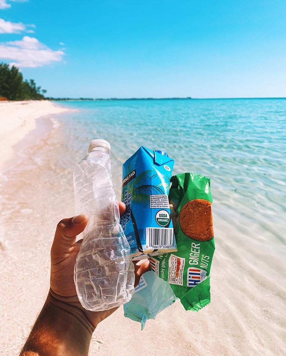Scientists predict that there could be more plastic in the ocean than fish by 2050. Photo: Instagram/pete_milnes.
