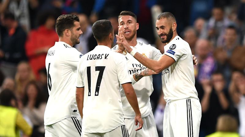 Real Madrid 2 Viktoria Plzen 1: Benzema and Marcelo give ...
