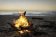 """<p>A night <a href=""""https://www.oprahdaily.com/life/g34014987/best-fire-pits/"""" rel=""""nofollow noopener"""" target=""""_blank"""" data-ylk=""""slk:by the fire"""" class=""""link rapid-noclick-resp"""">by the fire</a>, <a href=""""https://www.oprahdaily.com/life/food/g27412334/cheap-wine-brands/"""" rel=""""nofollow noopener"""" target=""""_blank"""" data-ylk=""""slk:a glass of wine"""" class=""""link rapid-noclick-resp"""">a glass of wine</a>, and sharing your favorite old-school Spotify playlist: It's the modern-day equivalent of making somebody a mix tape. """"Listening to old music can reveal what your partner's adolescent years were like: did they have a difficult upbringing? What memories are spurred by the music?"""" says Tracy Bagatelle-Black, MA, AMFT. The nostalgia can help trigger both dopamine and oxytocin—the bonding hormone and the love hormone.</p>"""