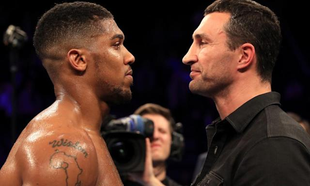 "<span class=""element-image__caption"">Wladimir Klitschko has questioned Anthony Joshua's boxing ability.</span> <span class=""element-image__credit"">Photograph: Richard Heathcote/Getty Images</span>"