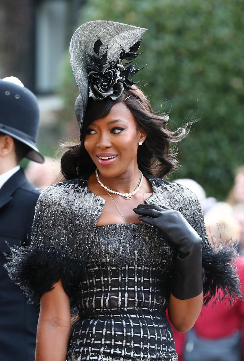 Naomi was previously linked with rapper Skepta (PA Wire/PA Images)
