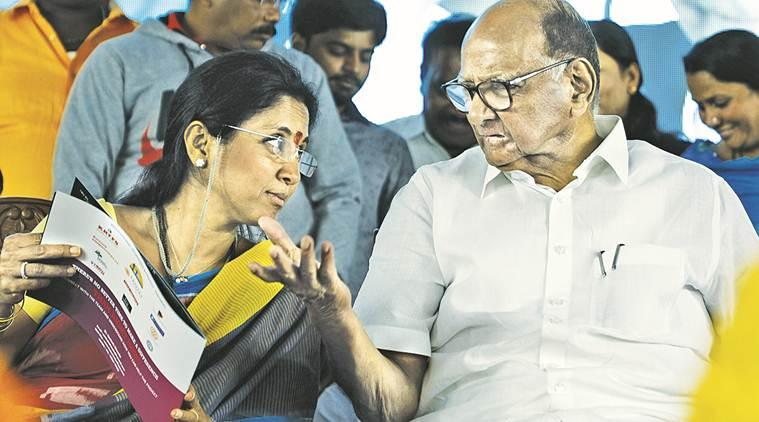 pm modi, sharad pawar, supriya sule, ncp, bjp ncp relation, sule offered cabinet post, sharad pawar interview, indian express