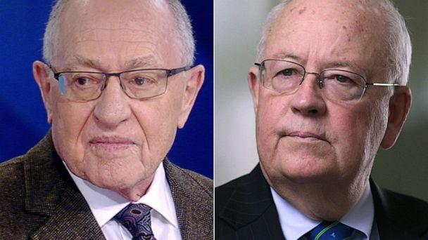PHOTO: Alan Dershowitz, left, and Ken Starr, right. (ABC News)