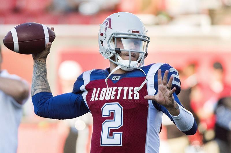 Montreal quarterback ripped fans for their 'We want Johnny' chant