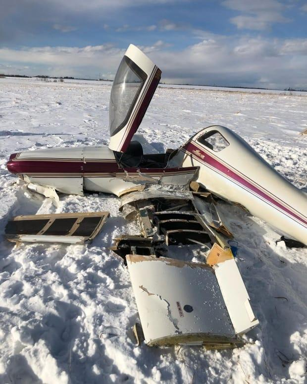 The pilot of a Lancair 360 two-seat aircraft was attempting to land the plane while taking off at the Josephburg airport on Saturday, Feb. 20, 2021.