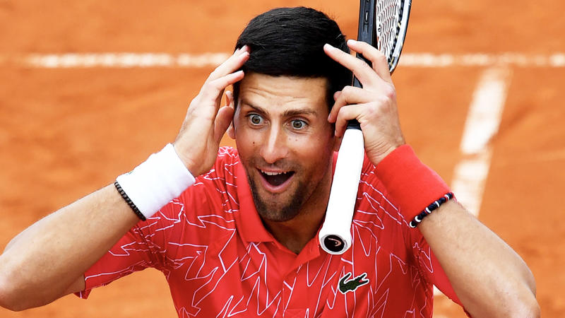 There are calls for Novak Djokovic to step down as ATP Player Council President after the Adria Tour debacle. (Getty Images)