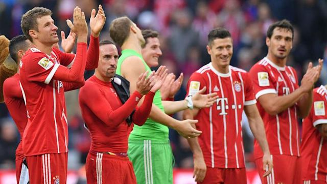 <p>Carlo Ancelotti came in for plenty of criticism last week after seeing his Bayern Munich side lose to an impressive Hoffenheim, but calm was restored at the weekend as the Bundesliga giants triumphed over Mainz.</p> <br><p>Thomas Muller was given a rare start and paid back his manager's faith with a goal, while right-back Joshua Kimmich was the star man, claiming three assists.</p> <br><p>Arjen Robben scored Bayern's second of the afternoon before striker Robert Lewandowski netted a second half double to wrap up the points.</p>