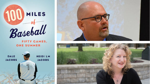 100 Miles of Baseball by is a book Dale Jacobs and Heidi L.M. Jacobs. (Biblioasis, Gene Kannenberg, Jolie Inthavong - image credit)
