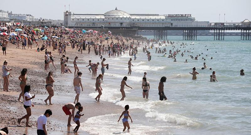 United Kingdom records hottest day in August in 17 years