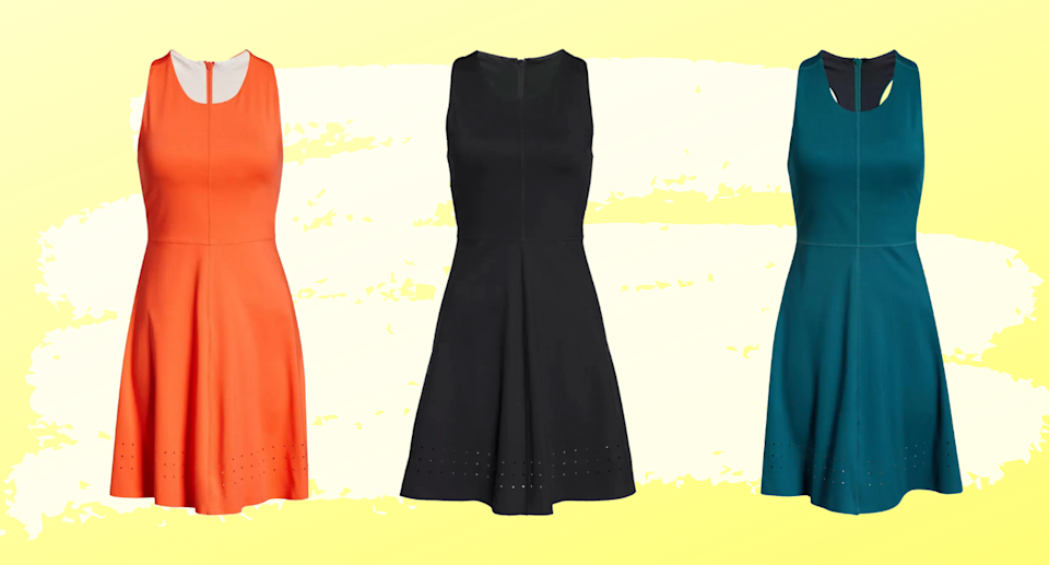 The Zella Studio Lite Active Raceback Dress is quickly becoming a fan-favourite at Nordstrom.