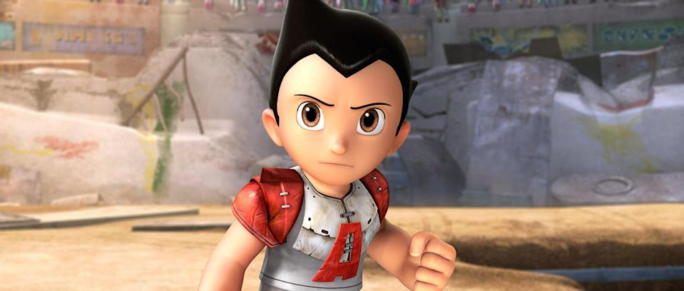 """<p><strong>HBO Max's Description:</strong> """"In this 'marvelously designed piece of cartoon kinetics' . . . based on the classic Japanese TV show, a scientist creates a robot boy with super powers, x-ray vision and the ability to fly.""""</p> <p><a href=""""https://play.hbomax.com/feature/urn:hbo:feature:GV40CkAHlGbfDNQEAAAAw"""" class=""""link rapid-noclick-resp"""" rel=""""nofollow noopener"""" target=""""_blank"""" data-ylk=""""slk:Watch Astro Boy on HBO Max here!"""">Watch <strong>Astro Boy</strong> on HBO Max here!</a></p>"""