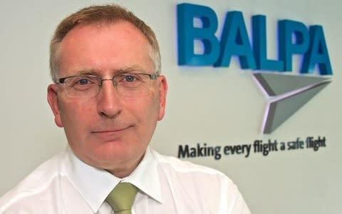 "<span>BALPA General Secretary Brian Strutton said: ""British Airways must now put the needs of its staff and passengers first and accept that its pilots will not be bullied or fobbed off.""</span> <span>Credit: BALPA </span>"