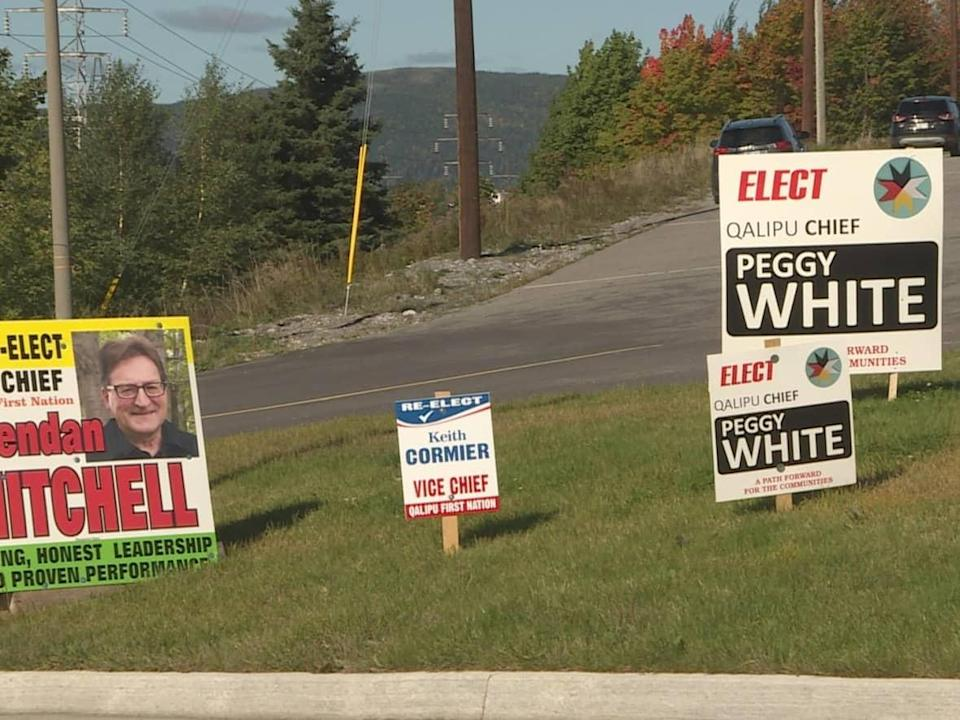 Candidates for chief of the Qalipu First Nation say membership in the band is the top issue of the election. (Colleen Connors/CBC  - image credit)