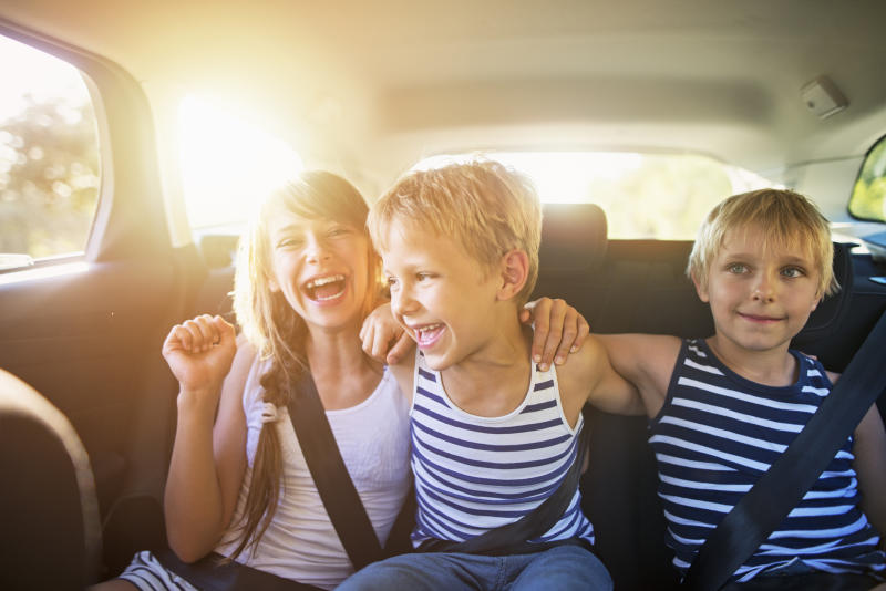 A third of parents are breaking the law when transporting someone else's child in the car [Photo: Getty]