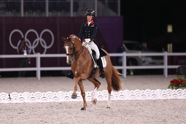 Charlotte Dujardin was targeting another Olympic medal