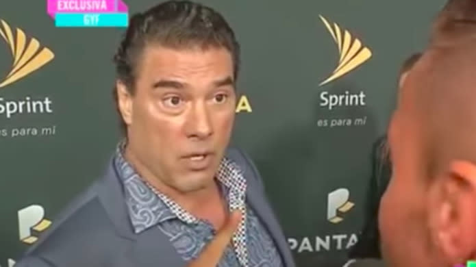 Mexican Soap Actor Eduardo Yáñez Slaps Reporter On Red Carpet