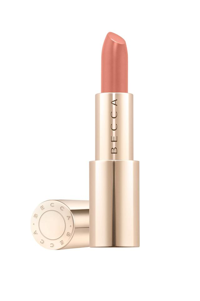 """<p>Say goodbye to lipstick that becomes flaky and patchy as the day goes by. Becca's eight-hour wear lip colours are enriched with hyaluronic acid to keep your pout moist all day. </p><p><em><a rel=""""nofollow"""" href=""""https://www.cultbeauty.co.uk/becca-ultimate-lipstick-love.html"""">Becca Ultimate Lipstick Love</a>, £20 each</em></p><p><em><a rel=""""nofollow"""" href=""""https://www.cultbeauty.co.uk/becca-ultimate-lipstick-love.html"""">SHOP NOW</a></em><strong> </strong></p>"""