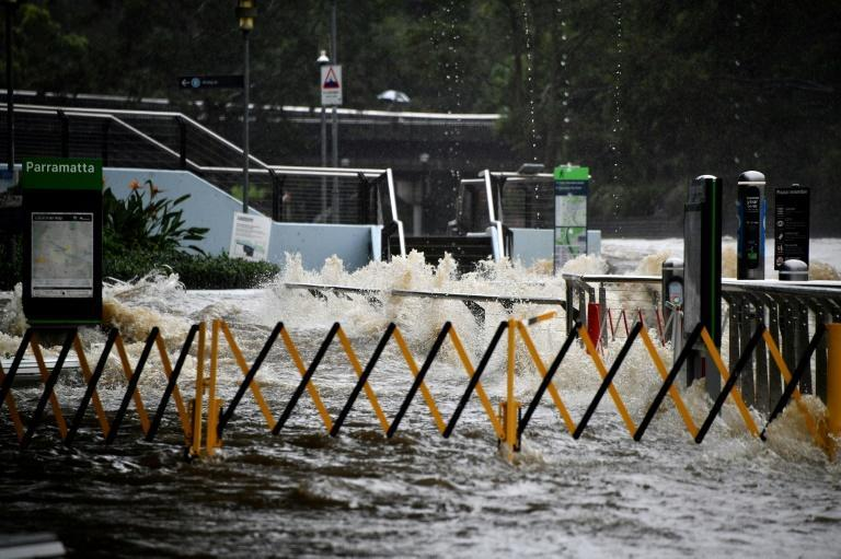 Towns along Australia's east coast have already seen record rainfall of more than 400 millimetres (16 inches) since Friday morning