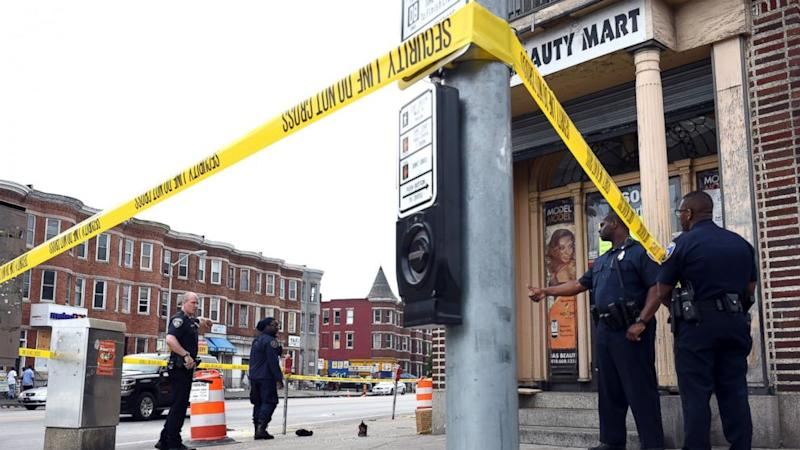 Baltimore Homicides Approach Record High