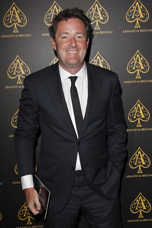 """America's Got Talent"" judge Piers Morgan looks happy to be home in his native England. Jon Furniss/<a href=""http://www.wireimage.com"" target=""new"">WireImage.com</a> - July 2, 2008"