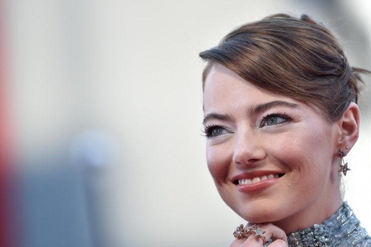 Riley Stone?.... Emma Stone reveals her real name - Credit: AFP