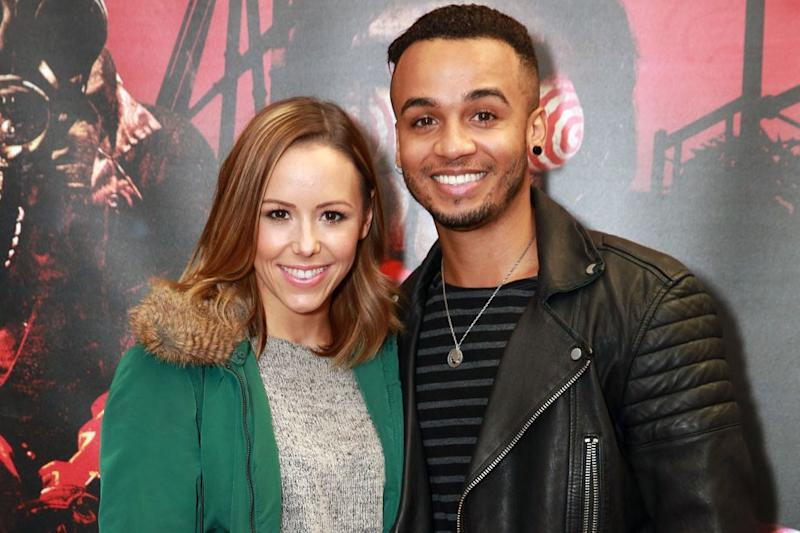 Wedding bells: Aston Merrygold has opened up about planning to marry Sarah Richards: Matt Alexander/PA Wire/PA Images