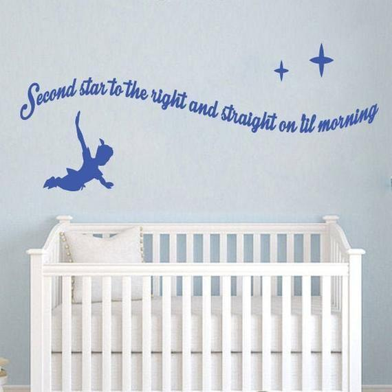 """<p><strong>ShopStickerGifts</strong></p><p>etsy.com</p><p><strong>$28.99</strong></p><p><a href=""""https://go.redirectingat.com?id=74968X1596630&url=https%3A%2F%2Fwww.etsy.com%2Flisting%2F758582724%2Fpeter-pan-wall-decal-wall-stickers-peter&sref=https%3A%2F%2Fwww.countryliving.com%2Fshopping%2Fgifts%2Fg34122456%2Fgifts-for-disney-lovers%2F"""" rel=""""nofollow noopener"""" target=""""_blank"""" data-ylk=""""slk:Shop Now"""" class=""""link rapid-noclick-resp"""">Shop Now</a></p><p>Perfect for a child's room or anyone who wants to """"think of happy things,"""" these Peter Pan decals are available in a wide range of sizes and colors.</p>"""