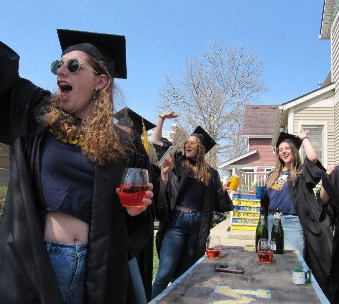 When graduation day came, my roommates and I put on our caps and gowns, gathered on the front lawn of the house we shared, and celebrated the end of our college lives.