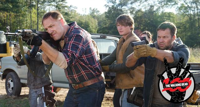 Jason Douglas as Tobin in <em>The Walking Dead.</em> (Photo: Gene Page/AMC)