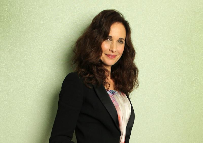 "FILE - This May 27, 2012 file photo shows actress Andie MacDowell during the 65th international film festival in Cannes, southern France. MacDowell stars in ""Debbie Macomber's Cedar Cove,"" premiering Saturday, July 20, 2013 at 8 p.m. EST on the Hallmark Channel. (AP Photo/Joel Ryan, File)"